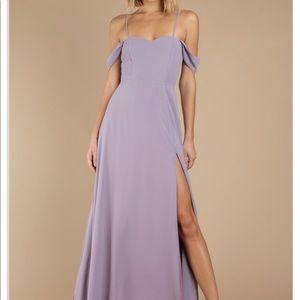 TOBI beautiful purple long dress